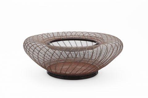 螺旋紋花籃